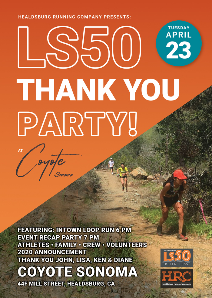 LS50 2019 thank you party