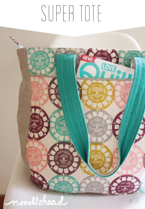 noodlehead super tote sewing pattern