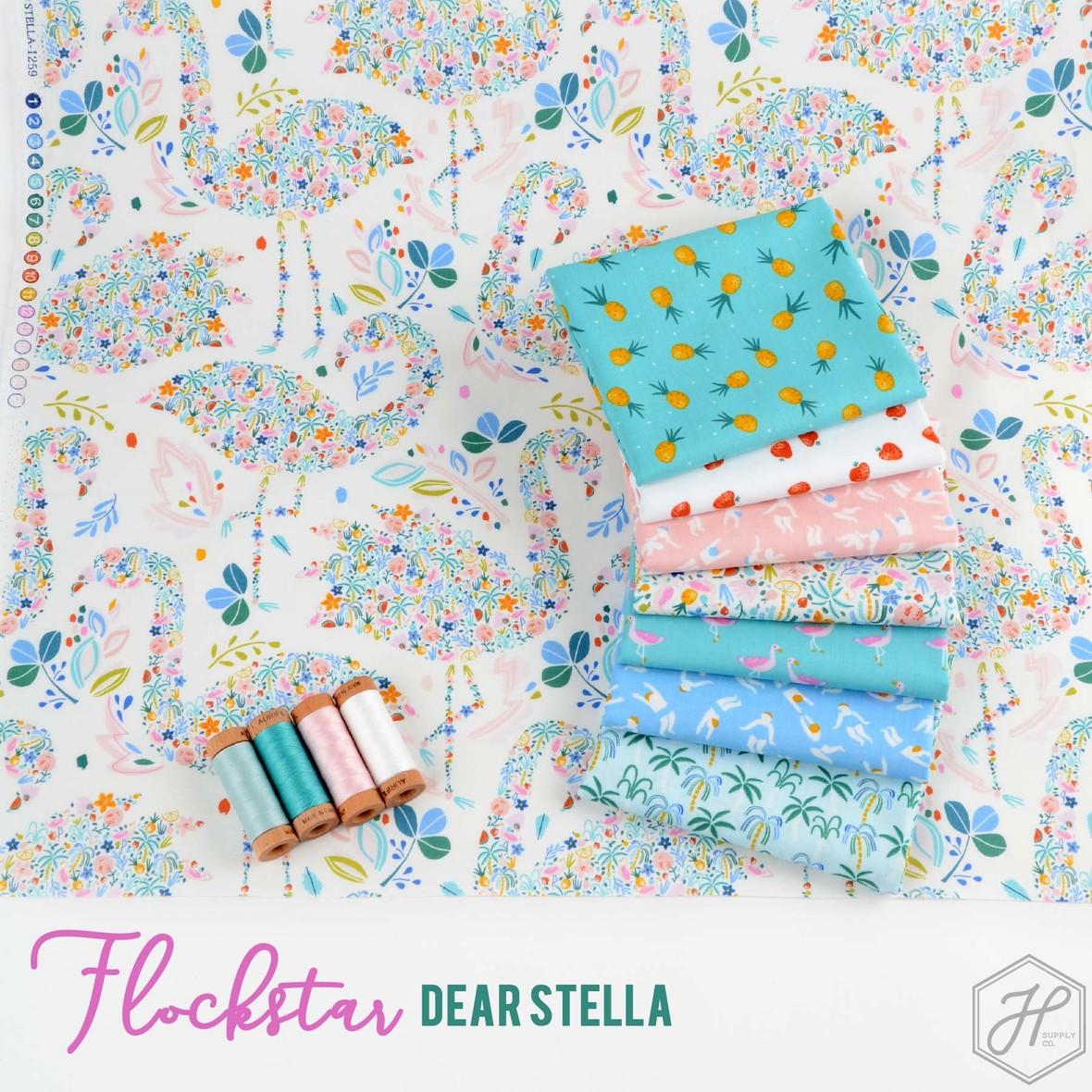 Flockstar Fabric Poster Dear Stella at Hawthorne Supply Co