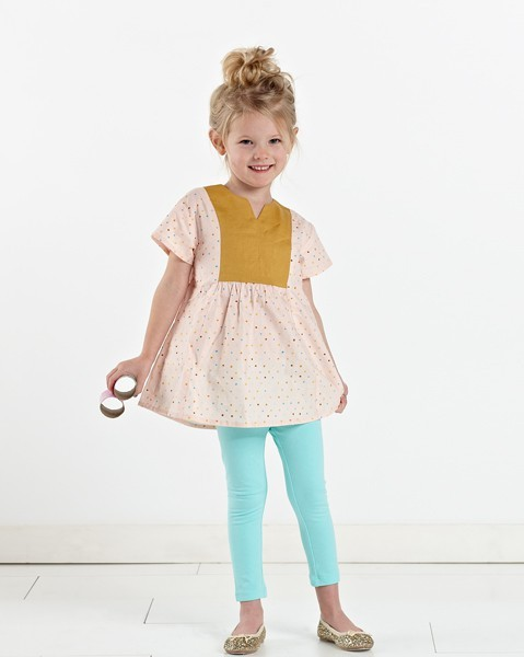 Hide and seek dress and tunic