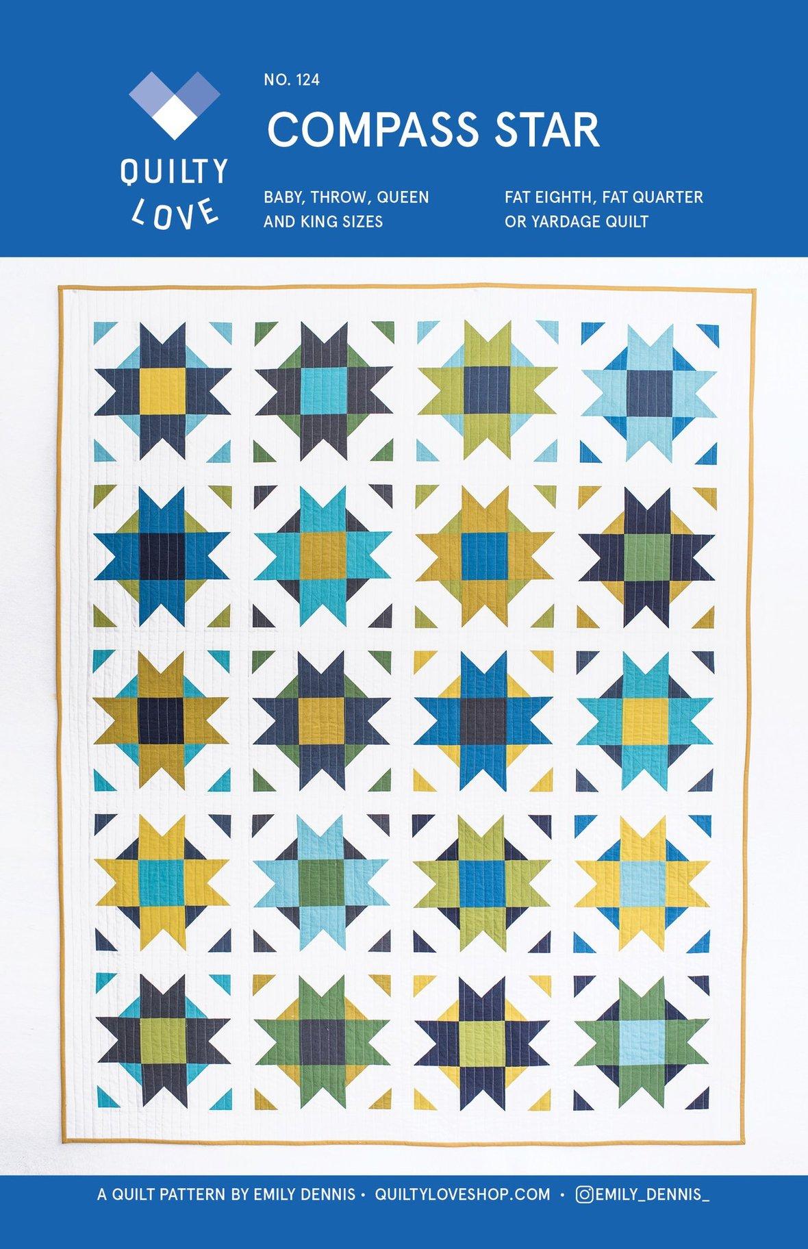 Compass Star PAPER Pattern 1024x1024 2x