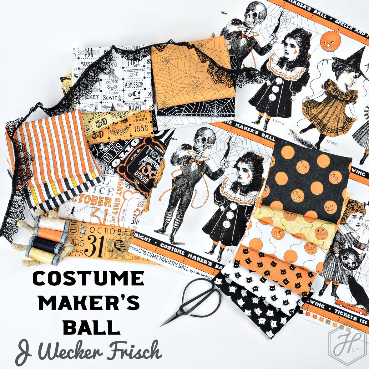 Costume Makers Ball Riley Blake fabric at Hawthorne Supply Co