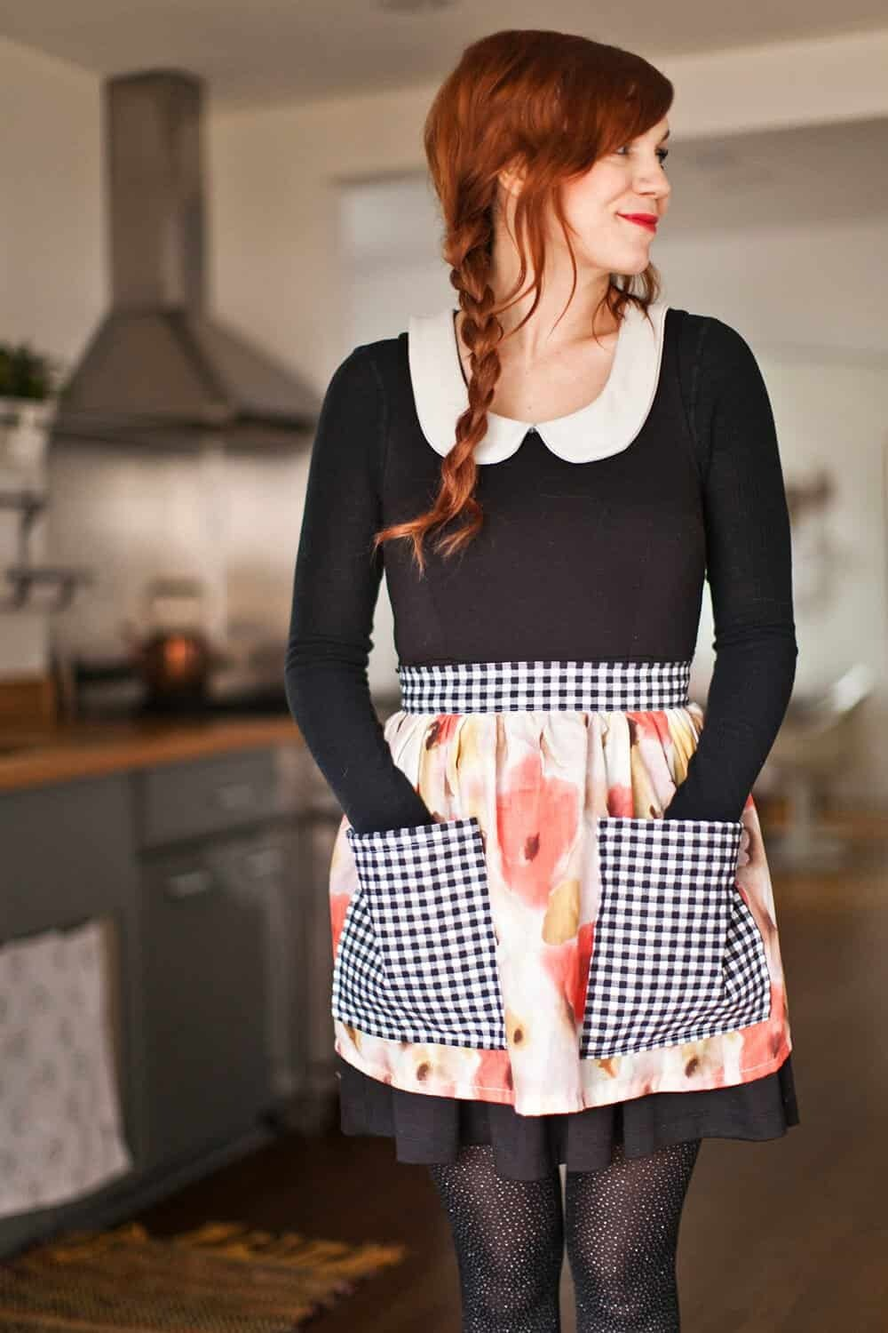 A BEAUTIFUL MESS- how-to-sew-a-half-apron