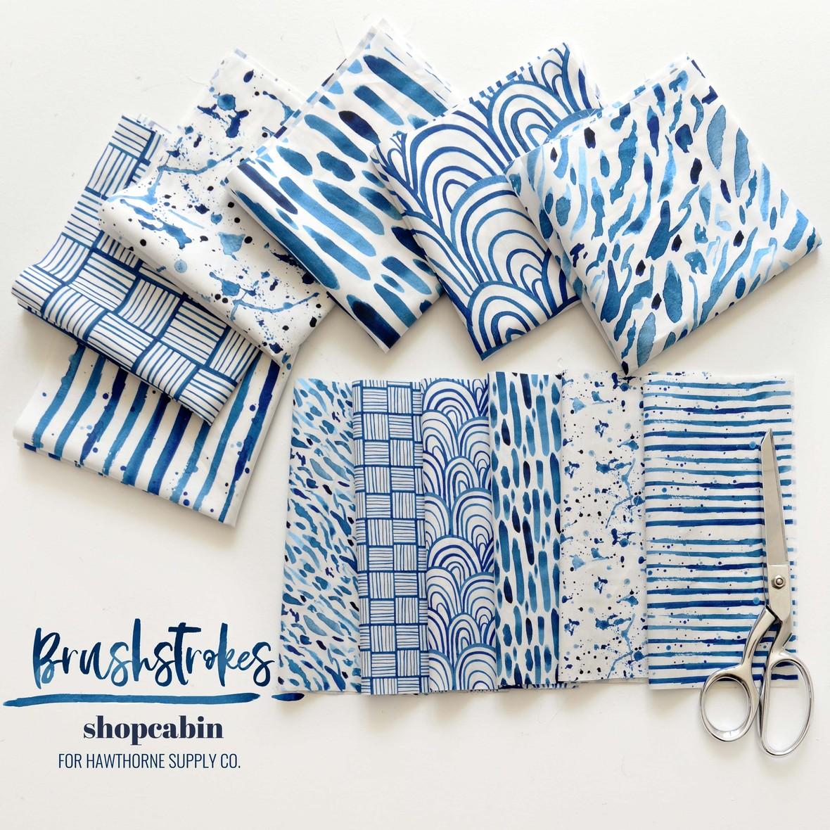 Brustrokes Fabric Shopcabin at Hawthorne Supply Co
