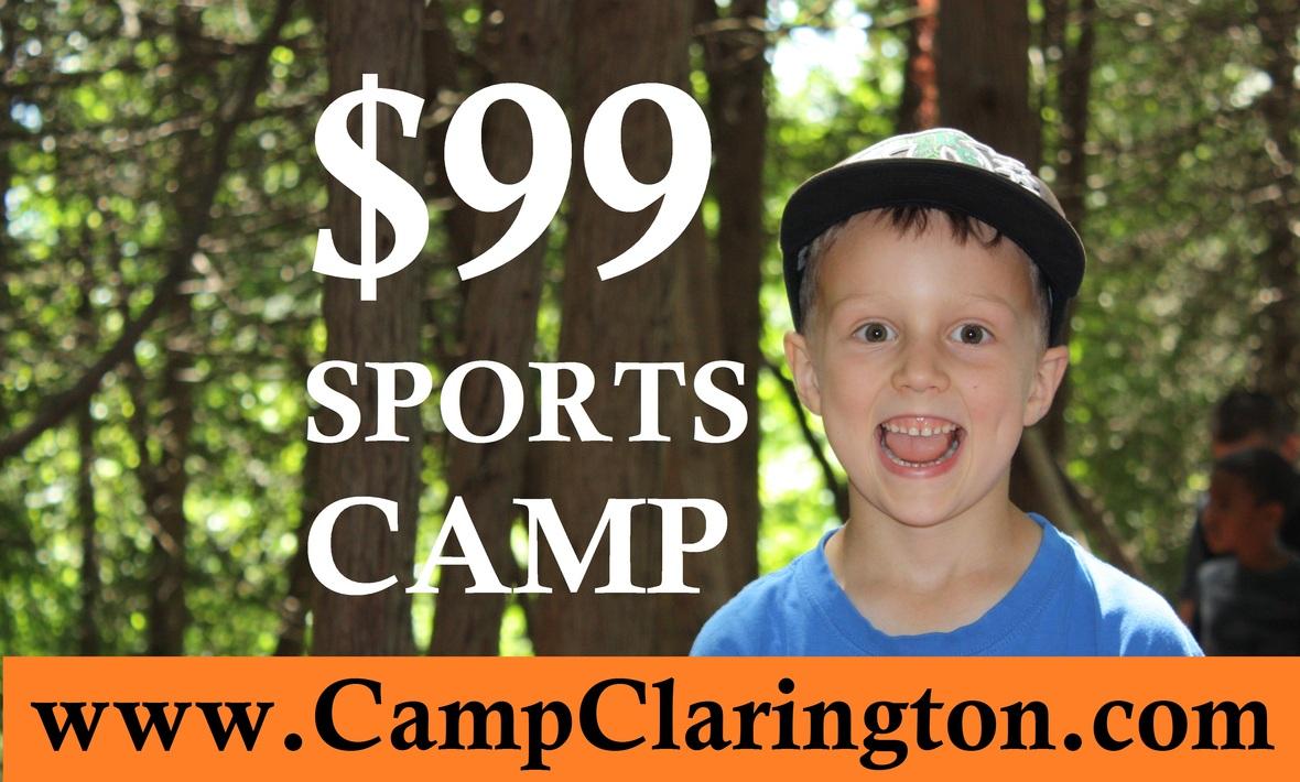sports camp 99 2019 camp clarington