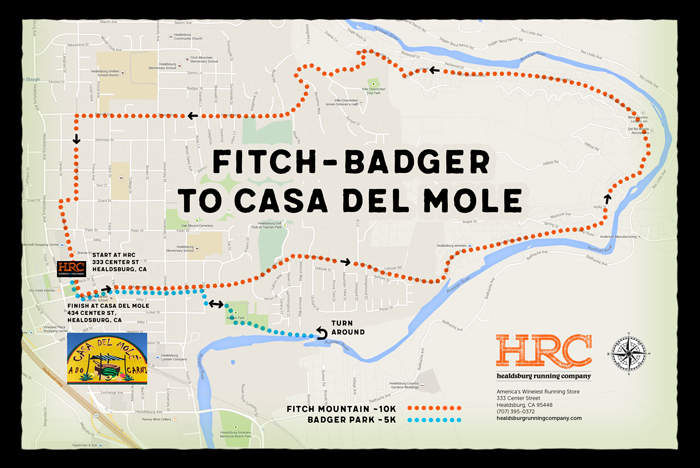 badger fitch casa mole map