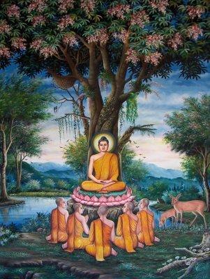 Buddha in Deer PArk