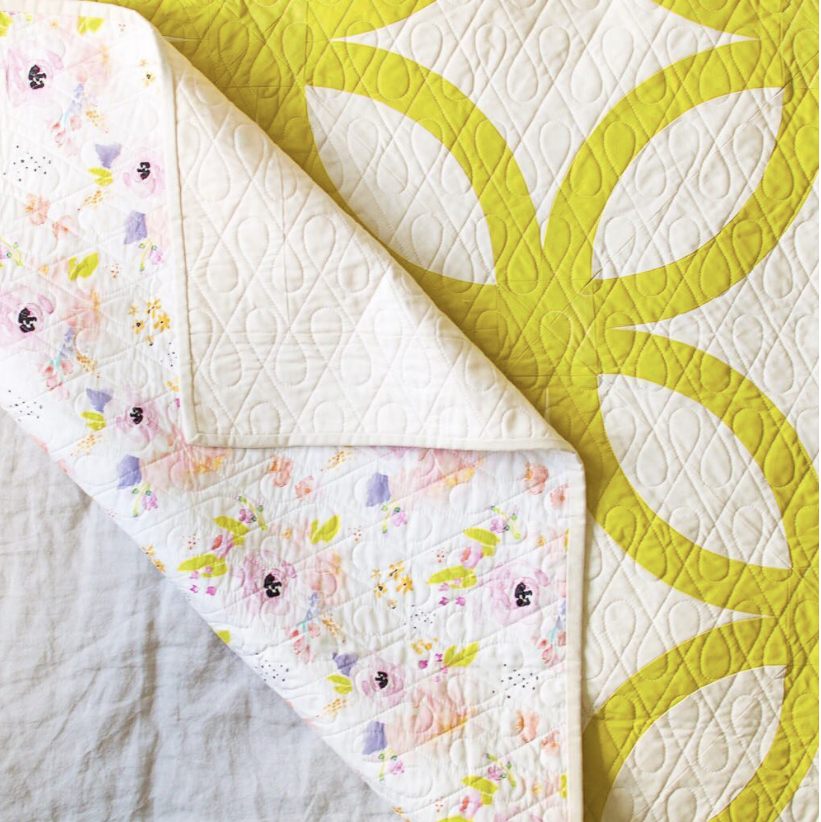 Watercolor Florals Fabric Indy Bloom