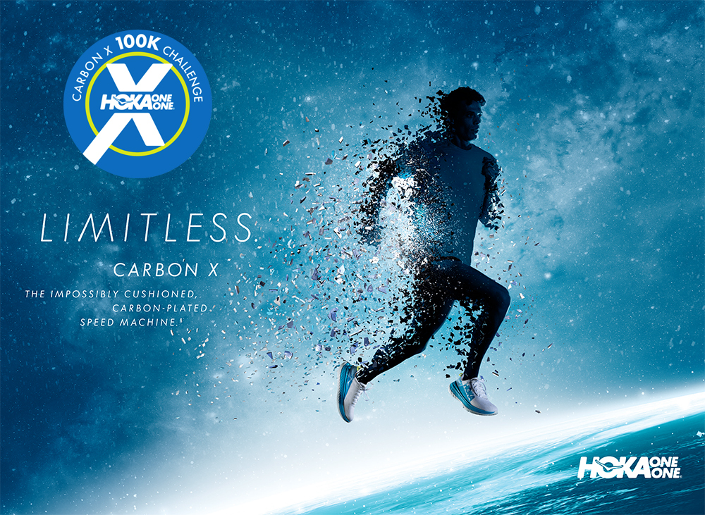 HOKA Limitless CarbonX M Silhouette