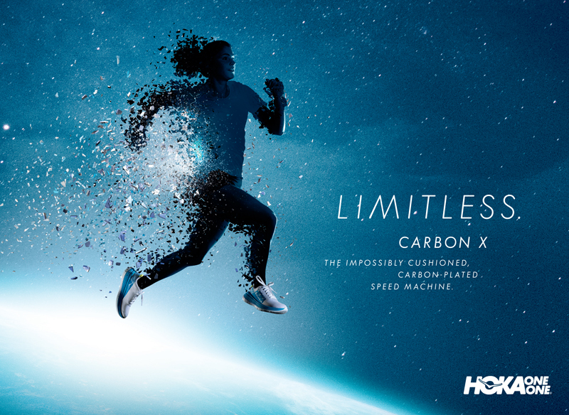 HOKA Limitless CarbonX W Silhouette