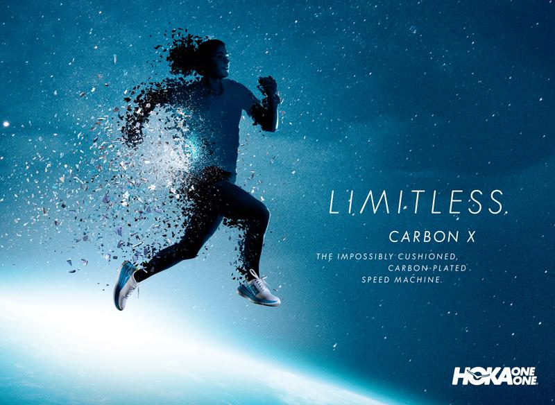 HOKA Limitless CarbonX W Silhouette