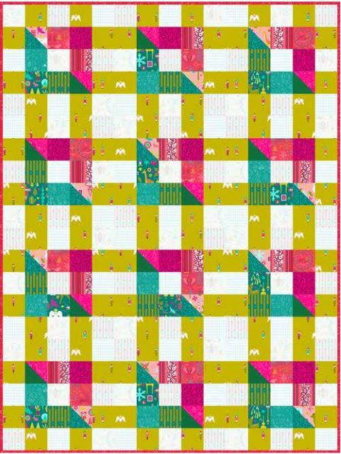 Holiday quilt andover website