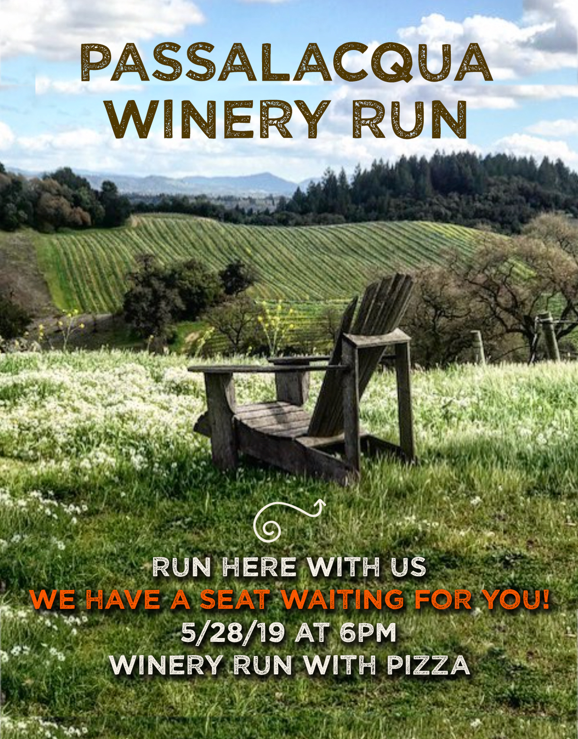 Passalacqua winery run