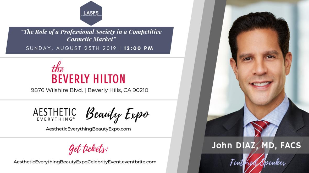 Beauty Expo speaker design - John Diaz MD