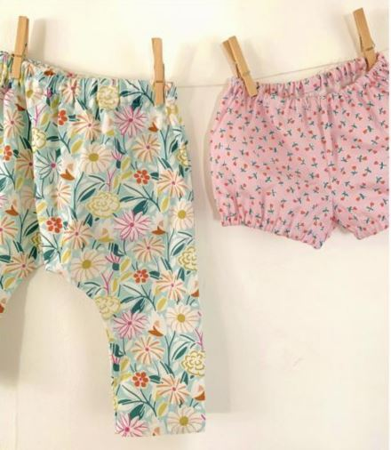 windham lookbook- harem pants and baby bloomers- wiksten