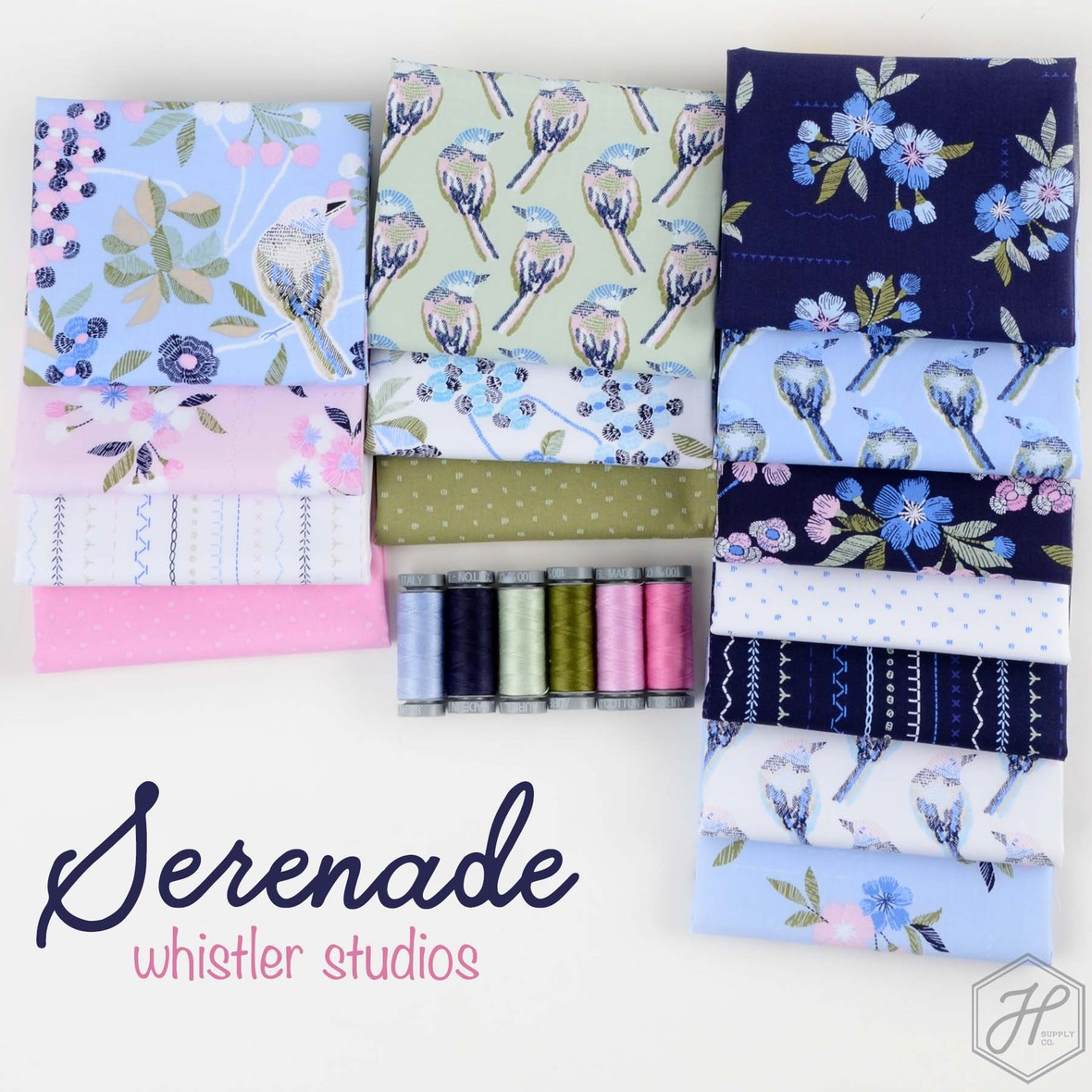 Serenade Fabric poster windham at Hawthorne Supply Co