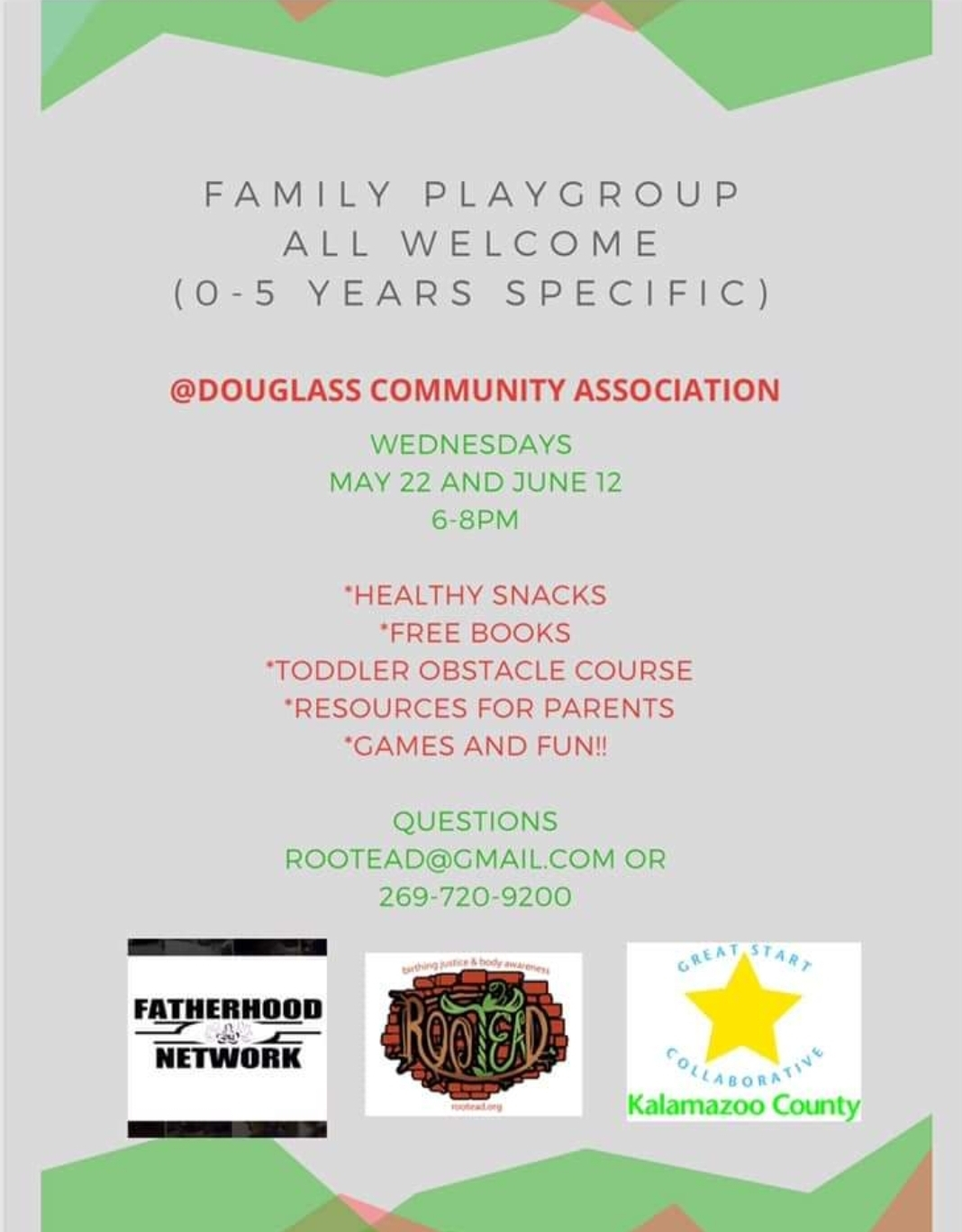 playgroup at douglass