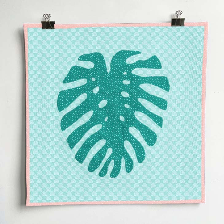 Horticultural Monstera Wall Hanging