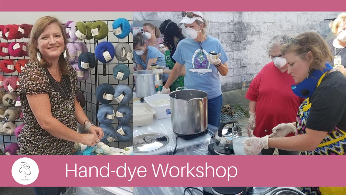 Hand-dye workshop