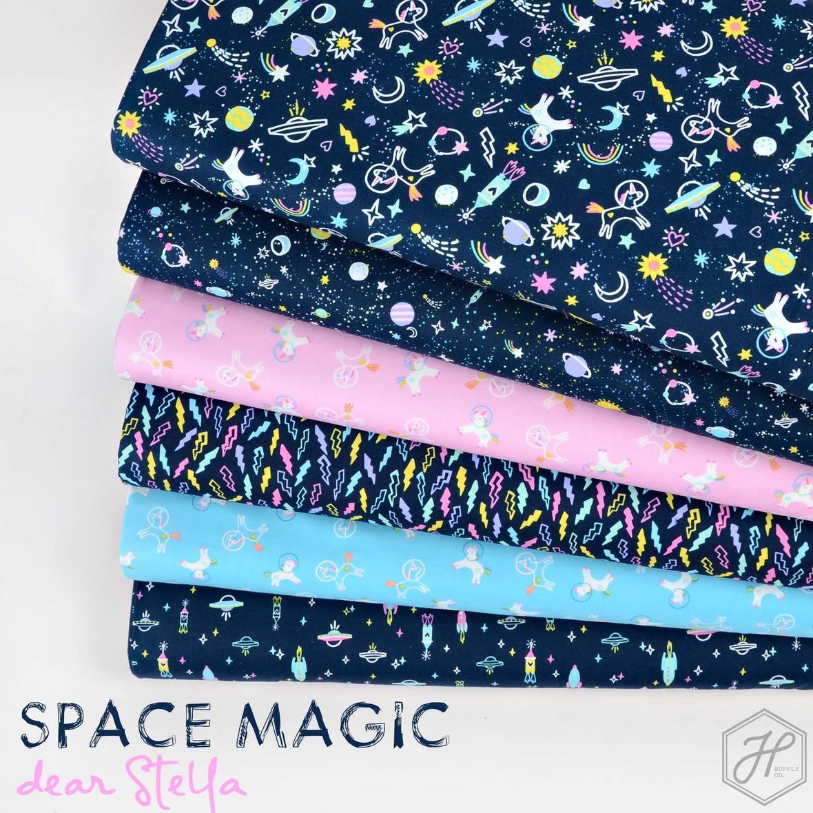 Space Magic Fabric Dear Stella at Hawthorne Supply Co