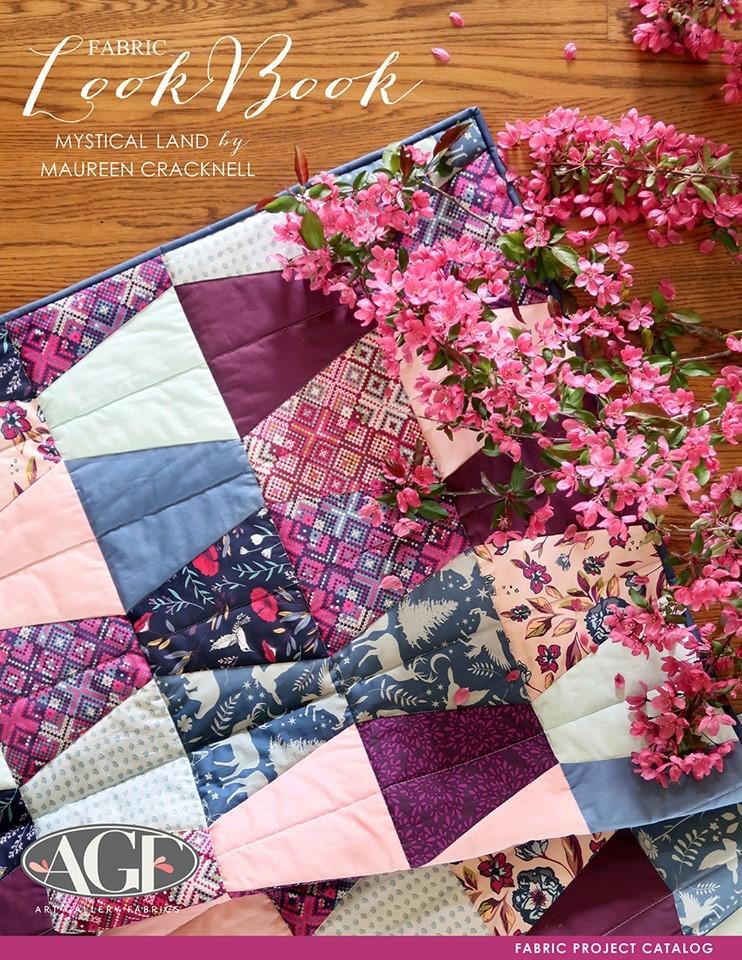 Mystical país Maureen Crackneil by Art Gallery fabrics Rayon