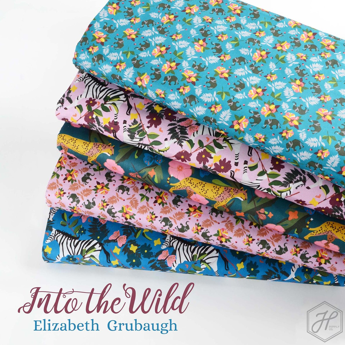 Into the Wild Fabric Poster