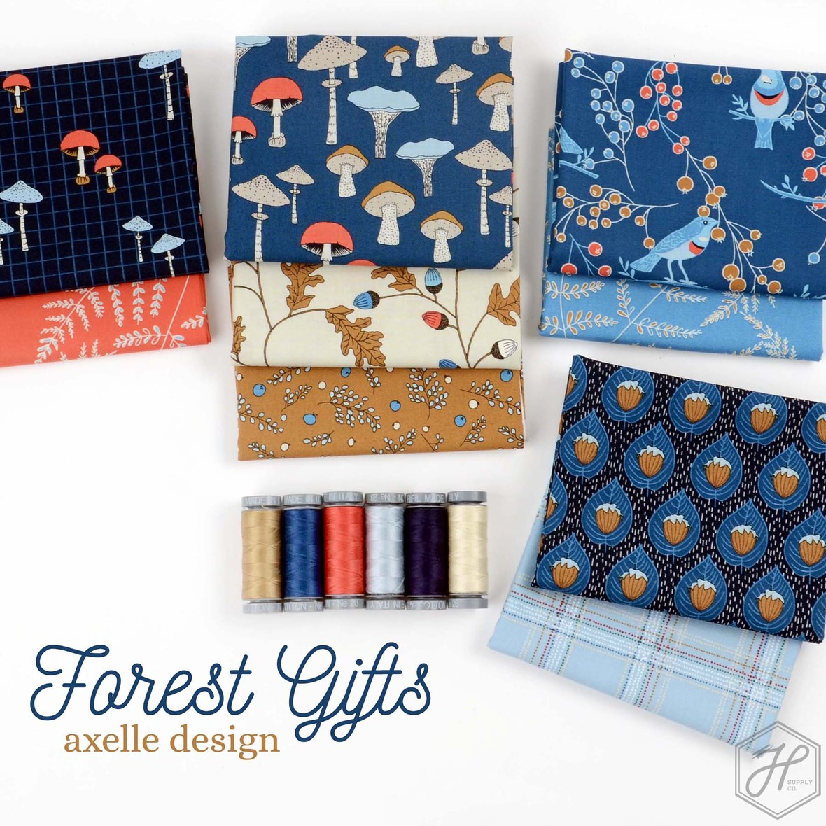 Forest Gifts Fabric Poster
