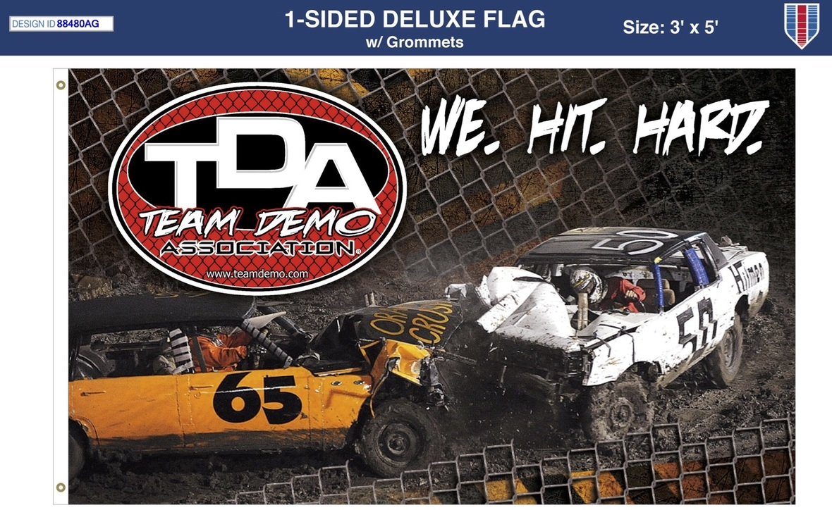 19 TeamDemo Flag 88480