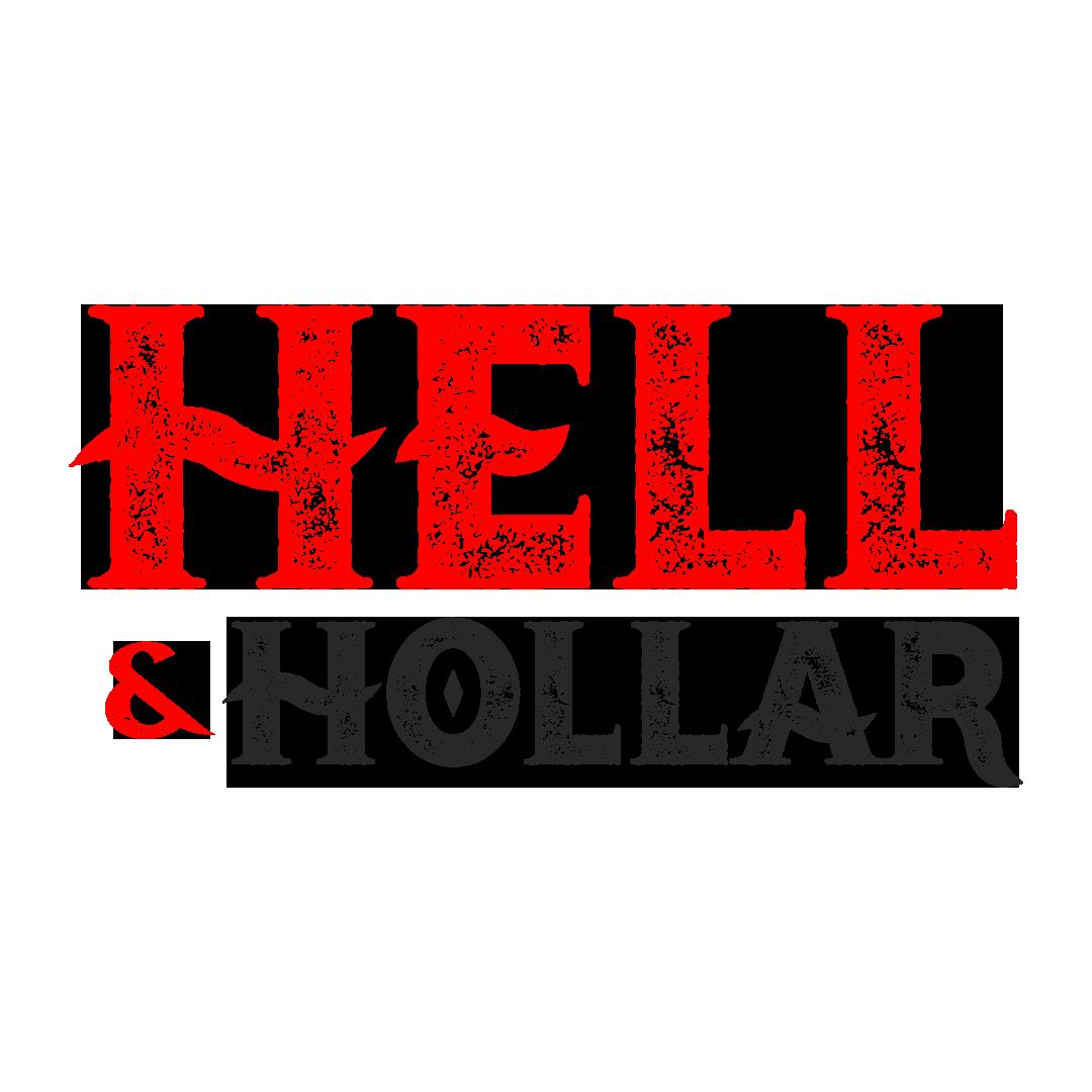 Hell Hollar StackedLogo RednBlack