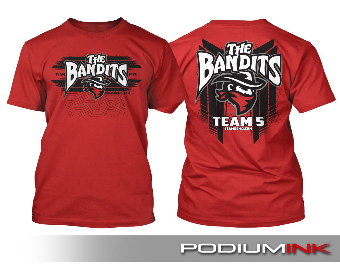 66 tda team 5 shirt