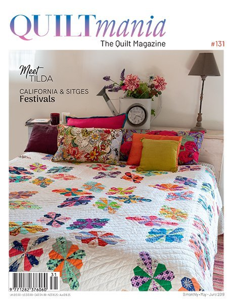 quiltmania 131 english magazine quilt mayjune2019 cover