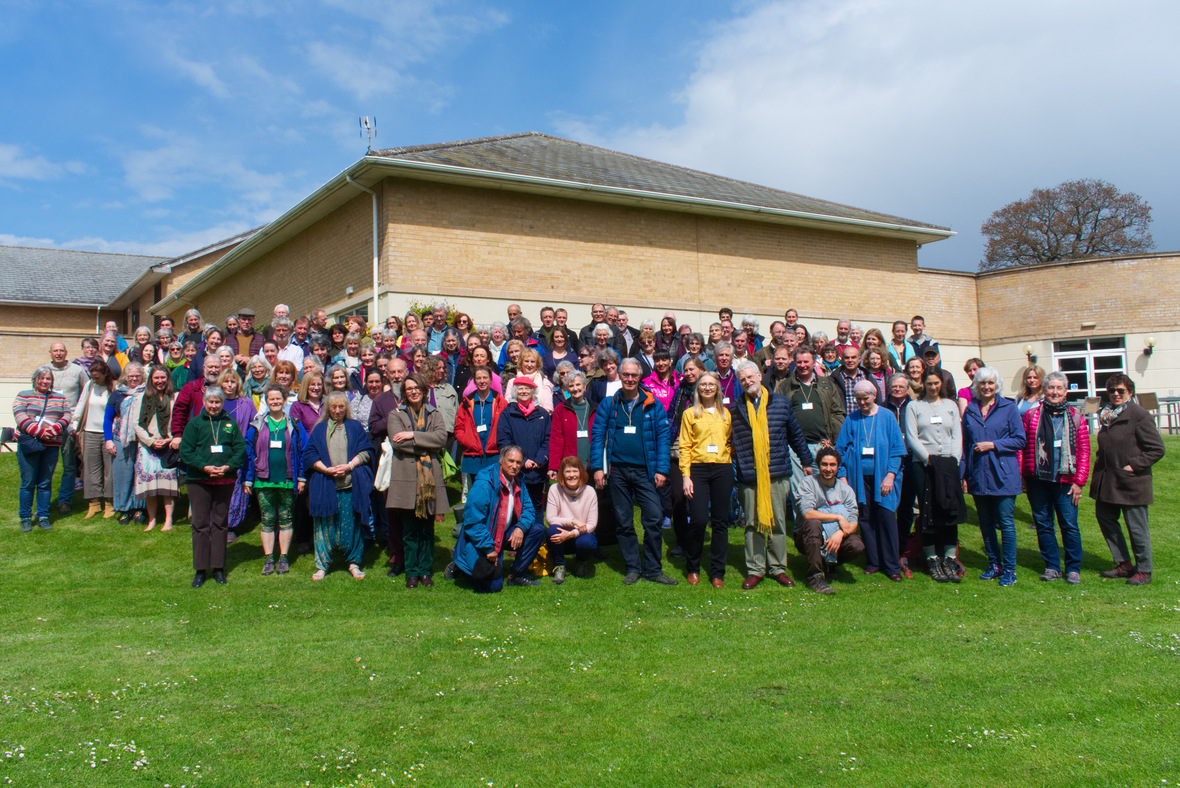 UK Nature Spirits conference - Group Photo
