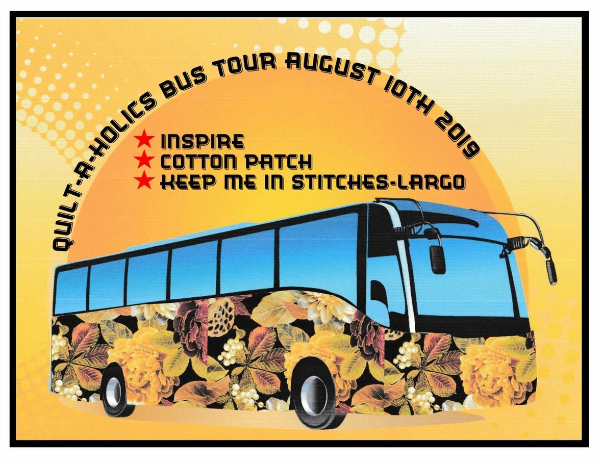 Quilt-A-Holics Bus Tour 810