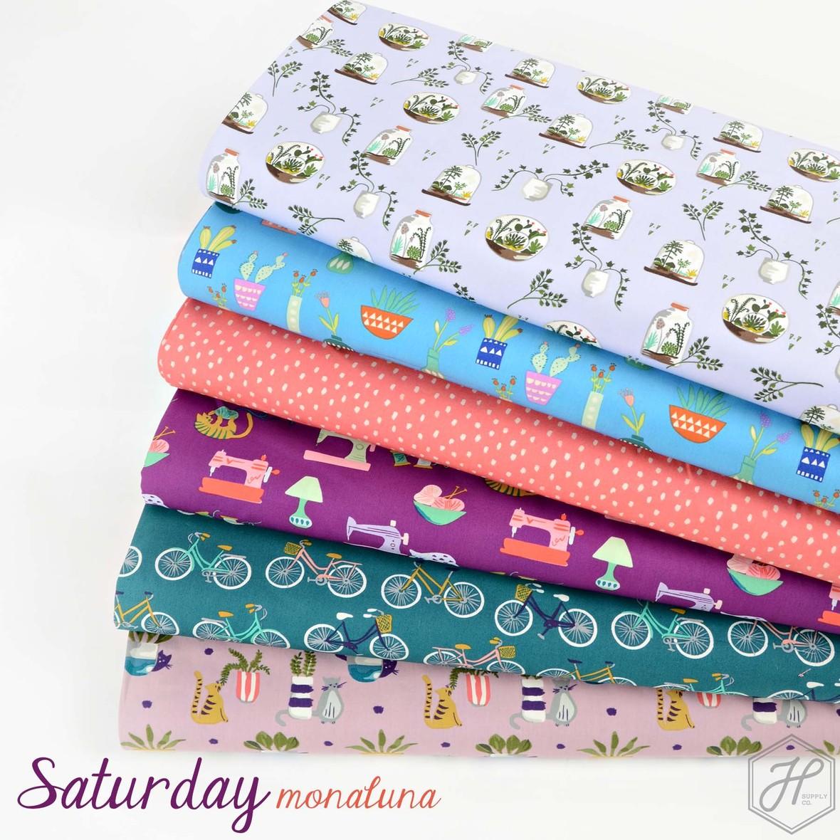 Saturday Fabric Monaluna at Hawthorne Supply Co