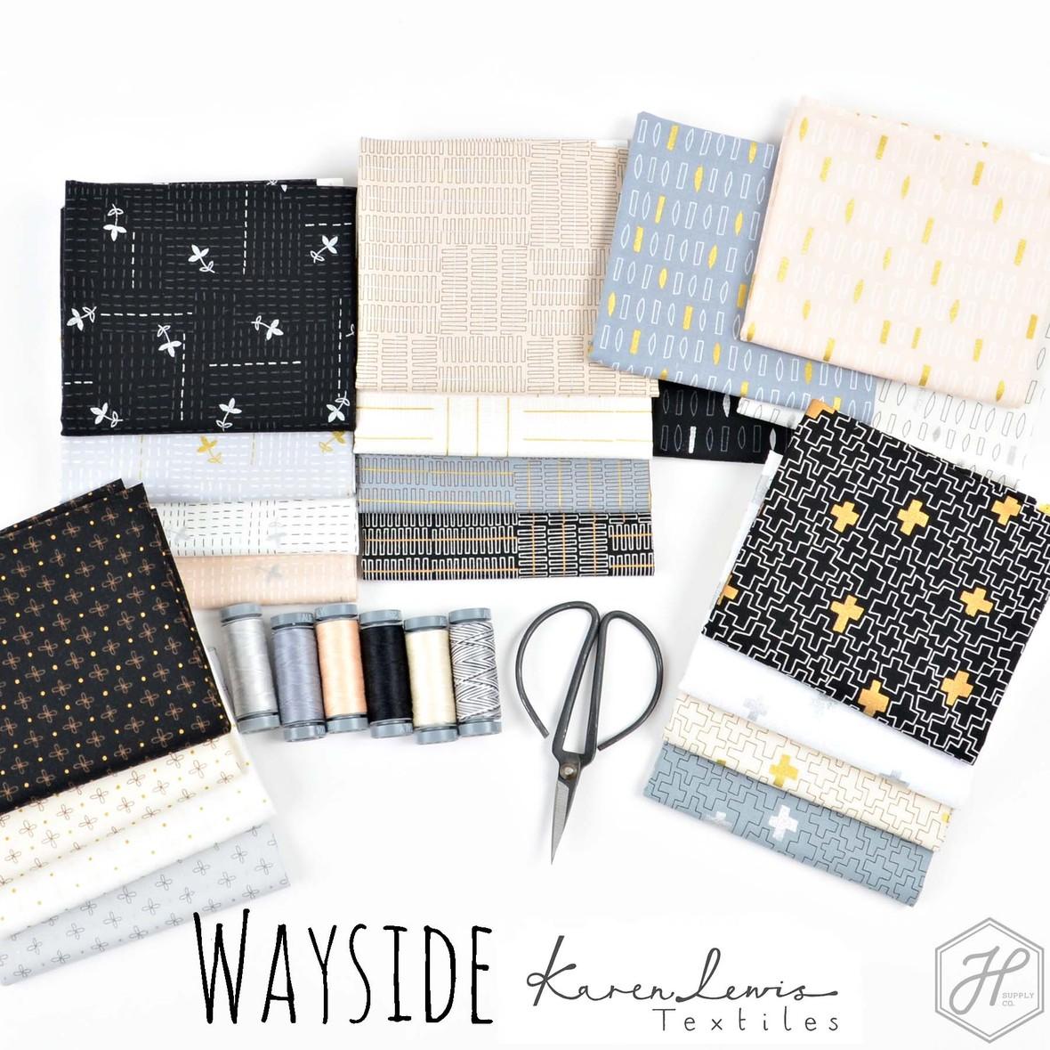 Wayside Fabric Poster Karen Lewis Textiles at Hawthorne Supply Co