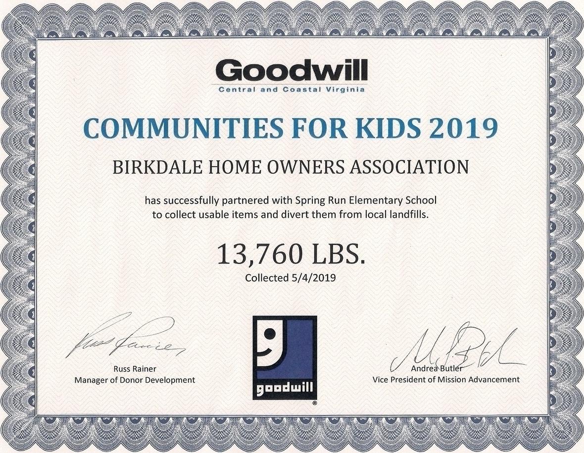 Goodwill 2019