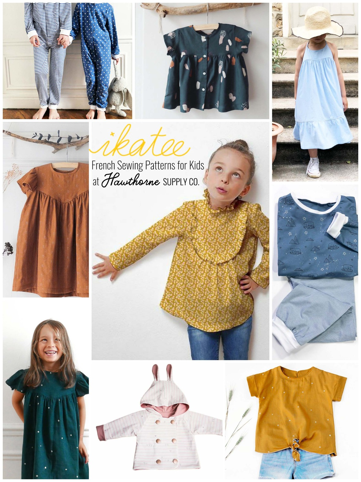 Ikatee Sewing Patterns for Kids at Hawthorne Supply Co