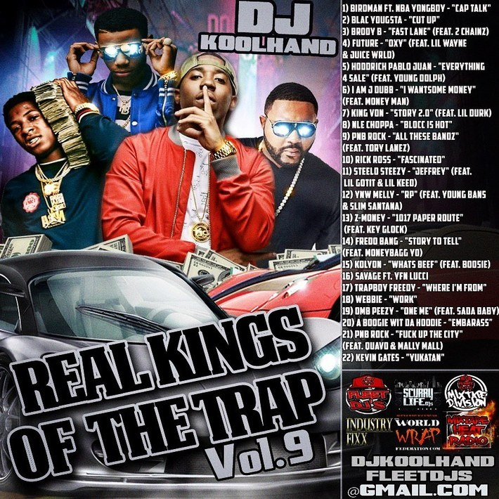 REAL KINGS OF TRAP VOL 9