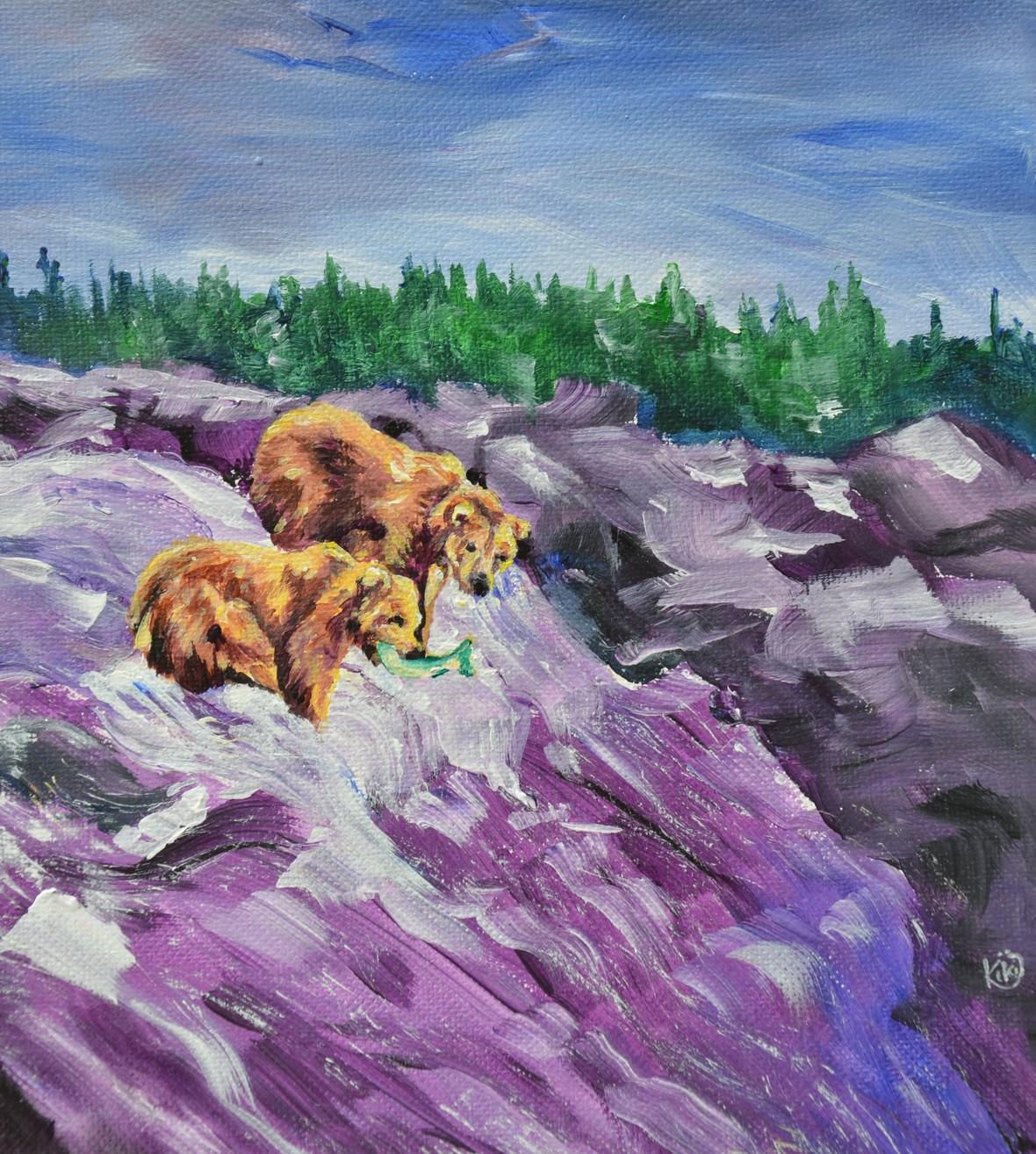 fishing grizzlies