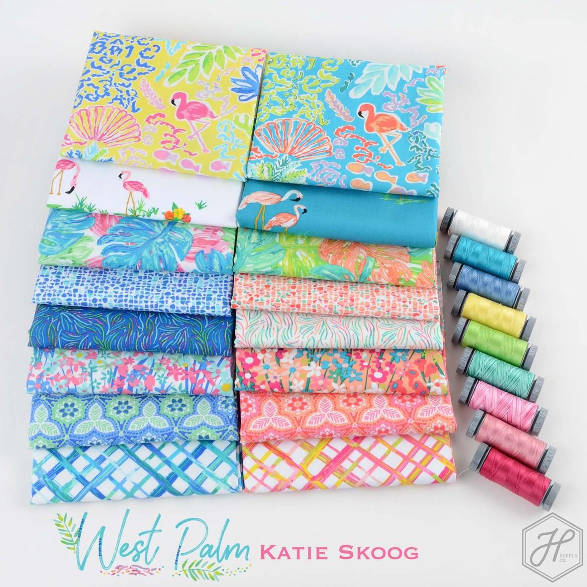 West Palm Fabric Katie Skoog at Hawthorne Supply Co