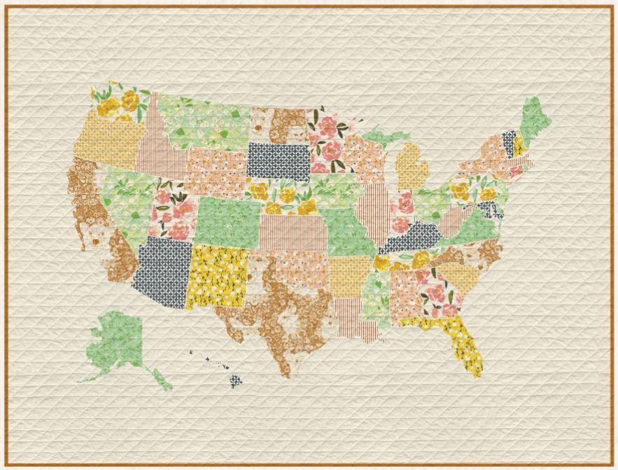 free quilt pattern- art gallery