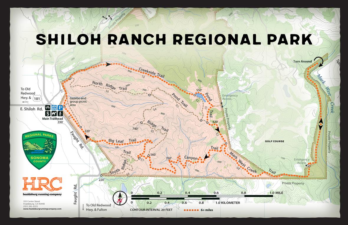 shiloh ranch map