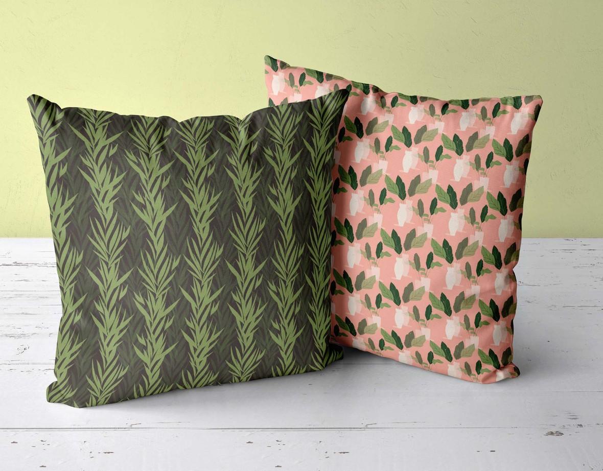 two pillows 2