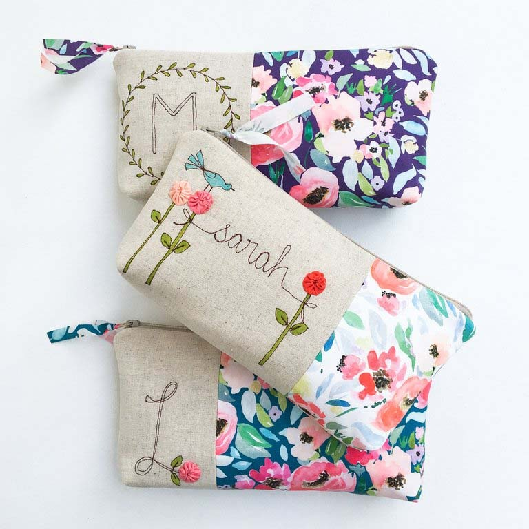 Mama Bleu Designs and Shopcabin Garden Party Fabric from Hawthorne Supply Co