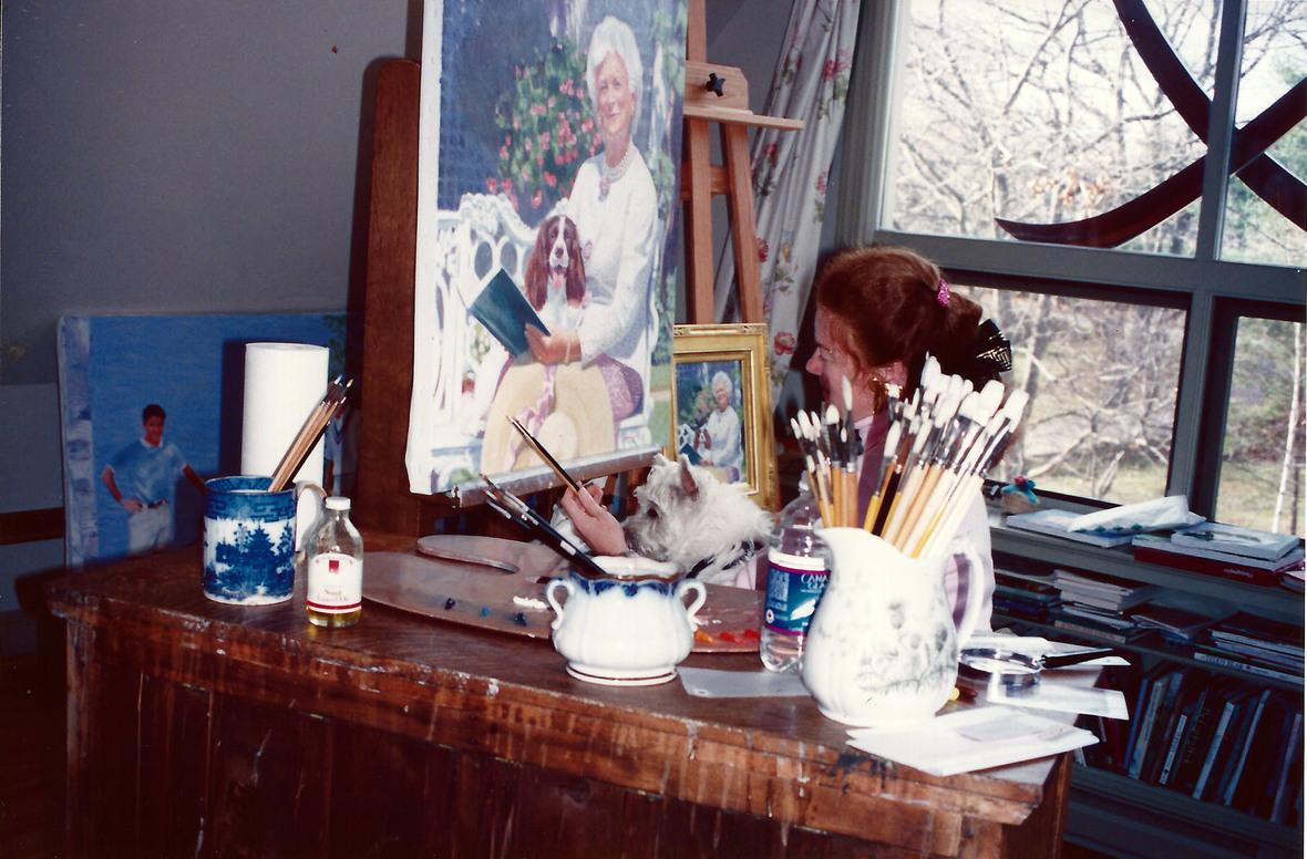 Painting Portrait 1991 1