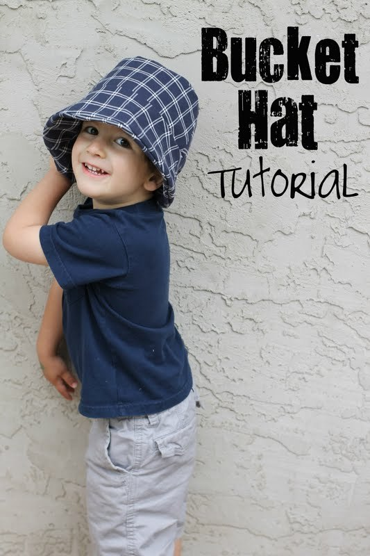 twindragonflydesigns- free bucket hat sewing tutorial