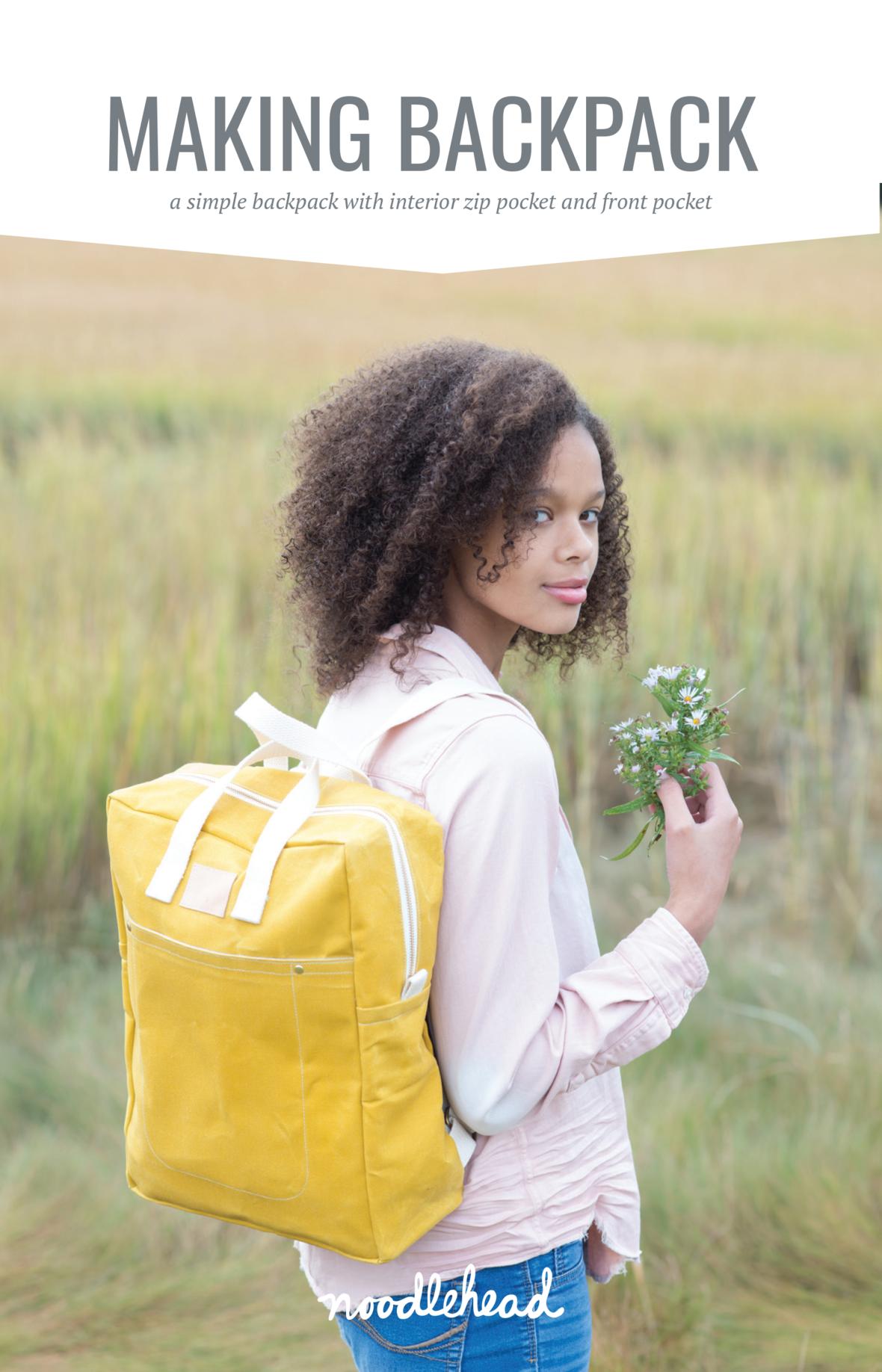 noodlehead-making backpack