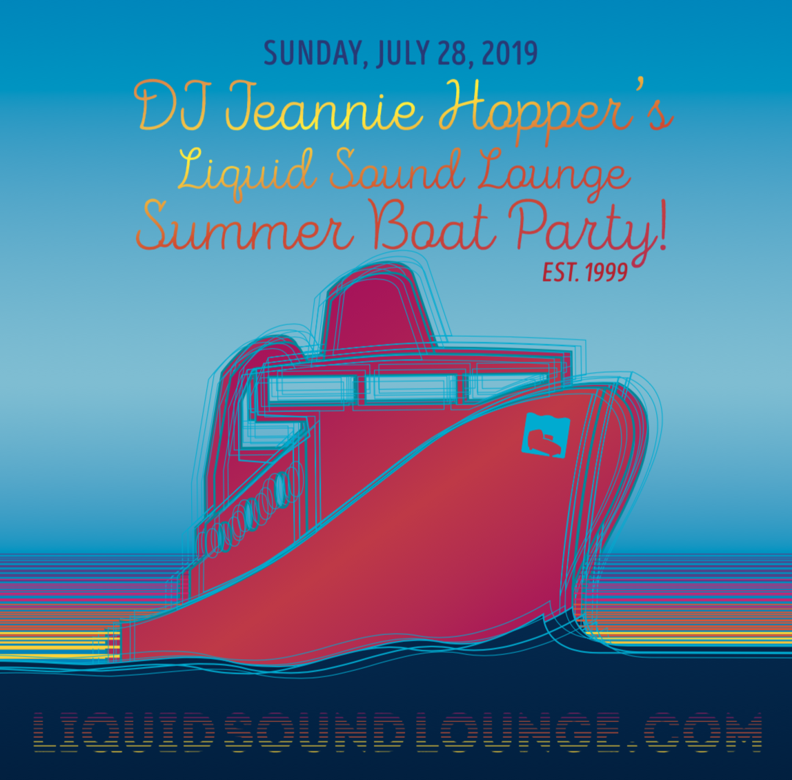 LISTEN•ENJOY• LIVE RECORDING of our 2018 LSL Boat Party
