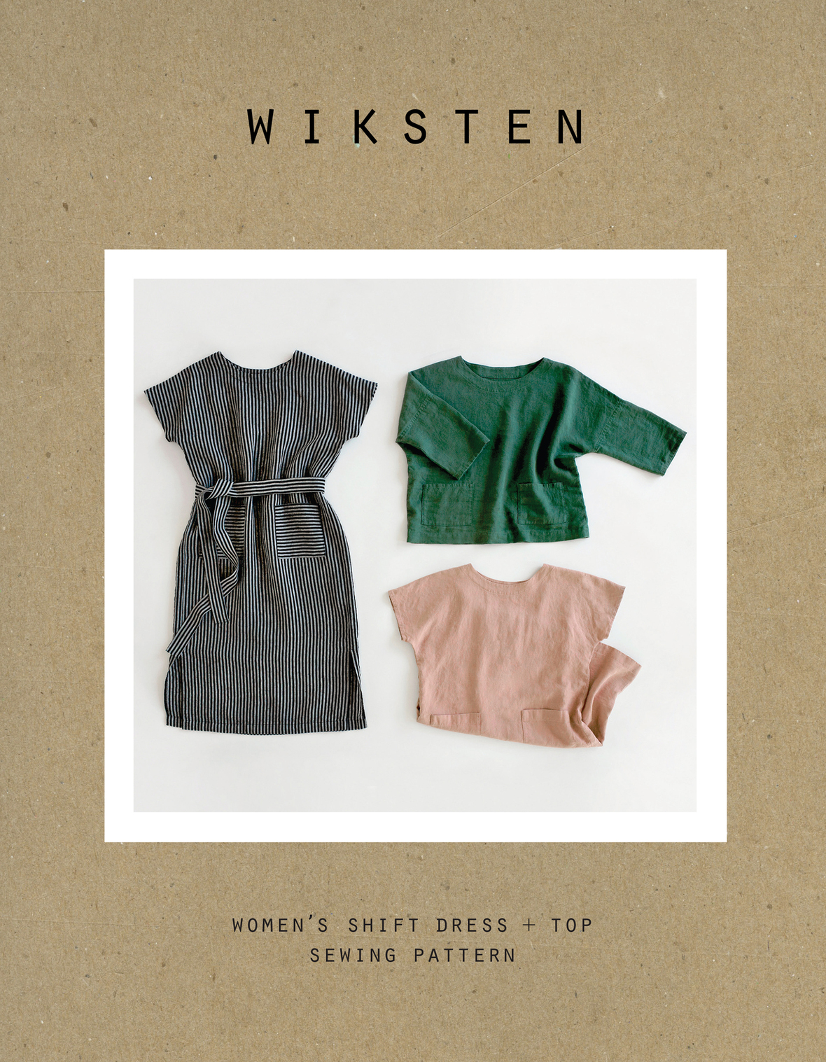 Wiksten Shift Dress Envelope Front