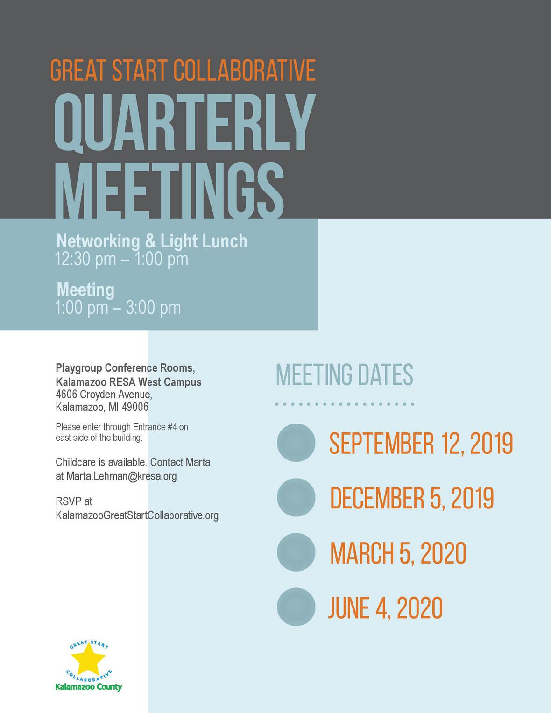 Quarterly Flyer 2019-20